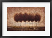 Framed Abstract Landscape IV - special