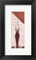 Milan Fashion - petite Framed Print