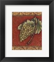 Grape Tapestry II - mini Framed Print