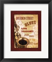 New Orleans Jazz III Framed Print