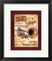 Framed New Orleans Jazz IV