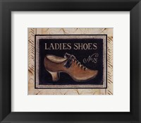 Ladies Shoes No. 25 - mini Framed Print