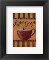 Framed Life's Good - petite