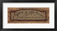 Framed Spice of Life