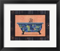 Retro Tub II Framed Print