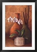 Modern Orchid II Framed Print