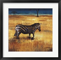 On the Plains I Framed Print
