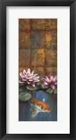 Golden Koi I - mini Framed Print