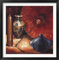 Asian Still Life II Framed Print