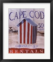 Framed Cape Cod Cabana