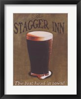 Stagger Inn Framed Print