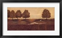 Among The Trees I Framed Print