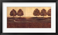 Among The Trees II Framed Print
