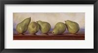 Framed Pears I