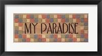 Framed My Paradise