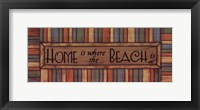 Home is Where Framed Print