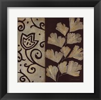Brown Leaf III Framed Print