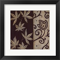 Brown Leaf IIII Framed Print