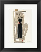 Fashion Pages III Framed Print