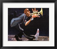 Modern Jazz Step Framed Print