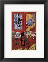 Framed Large Red Interior, 1948