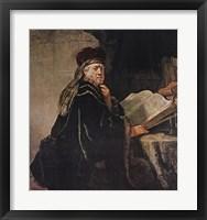 Framed Rabbi