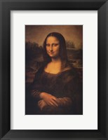 Framed Mona Lisa, c.1507