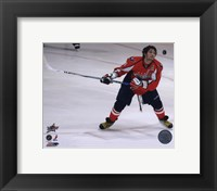 Framed Alex Ovechkin 2008 NHL All-Star Game Skills Competition