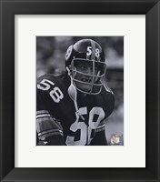 Framed Jack Lambert 1974 Action