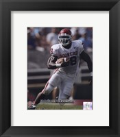 Framed Adrian Peterson University of Oklahoma Sooners 2005 Action