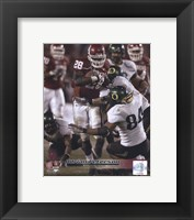 Framed Adrian Peterson University of Oklahoma Action