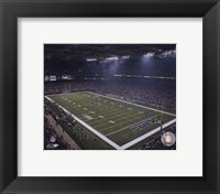 Framed Edward Jones Dome (Rams) 2007