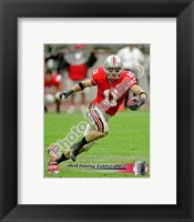Framed Anthony Gonzalez The Ohio State University Buckeyes 2006 Action