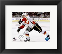 Framed Jarome Iginla 2007-08 Action
