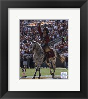 Framed Florida State University - Chief Osceola the Seminoles Mascot, 2006
