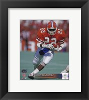 Framed Emmitt Smith Florida Gators 1988 Action