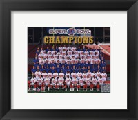 Framed New York Giants 2007 team photo (#83)