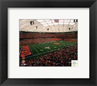 Framed Carrier Dome Syracuse University Orangemen 2006