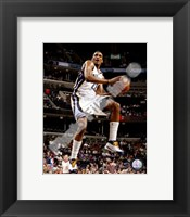Framed Rudy Gay 2007-08 Action