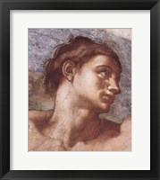 Framed Sistine Chapel Adam