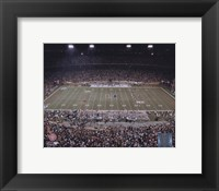 Framed Orange Bowl - University of Miami; Last Home game at the Orange Bowl played by the Hurricanes, November 10, 2007