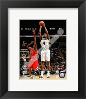 Framed Michael Finley 2007-08 Action