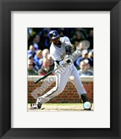 Framed Bill Hall 2008 Batting Action