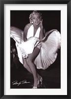 Framed Marilyn Monroe - Seven Year Itch