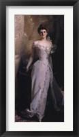 Framed Mrs. Ralph Curtis, 1898