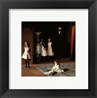 Framed Daughters of Edward Darley Boit, 1882