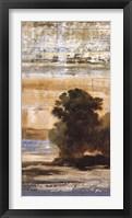 Green Trees II Framed Print