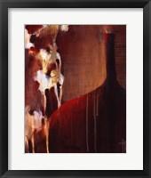 Persimmon Vase II Framed Print