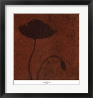 Framed Poppy (Metallic)