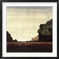 Framed Tree Line I